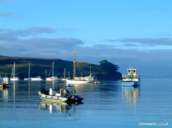 St Mawes boats