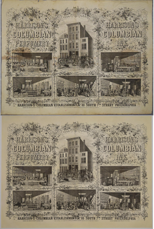 Harrison's Columbian Perfumery Ad