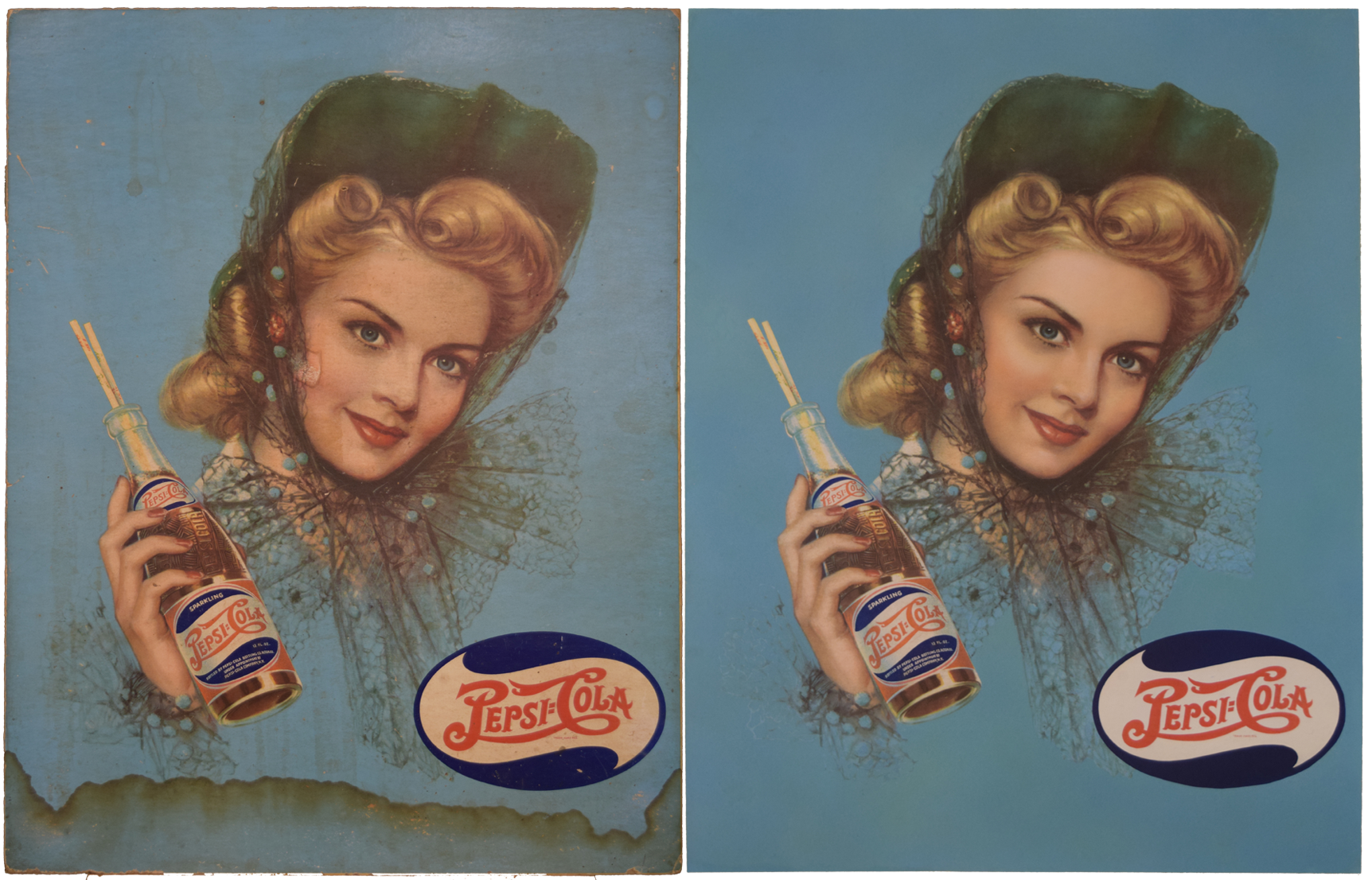 Pepsi Cola Vintage Advertisement