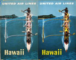 United Air Lines Hawaii