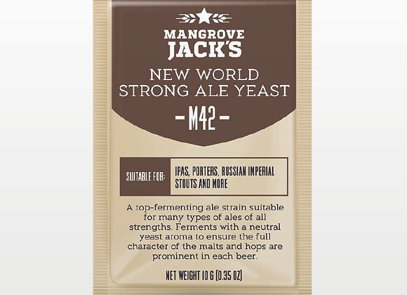 Mangrove Jack's | M42 New World Strong Ale Yeast - 10g