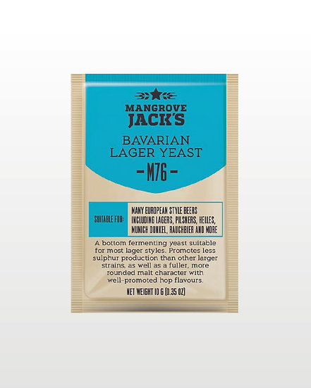 Mangrove Jack's | M76 Bavarian Lager Yeast - 10g