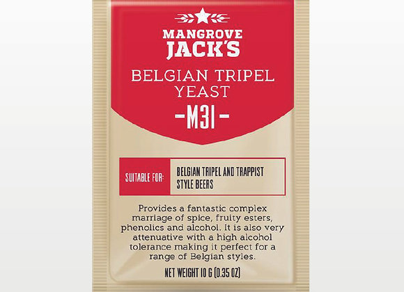 Mangrove Jack's | M31 Belgian Tripel Yeast - 10g