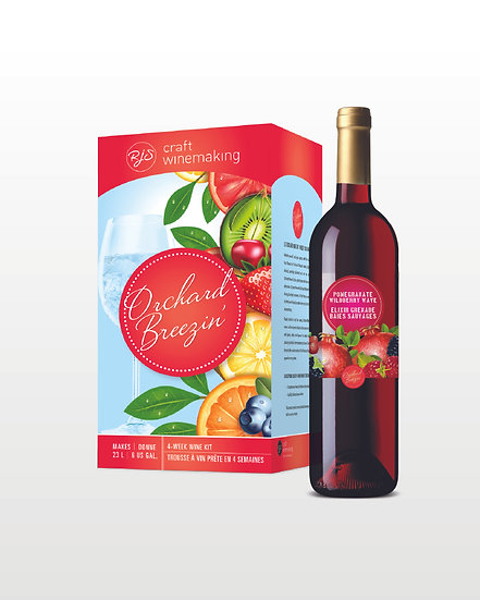 Orchard Breezin' | Pomegrate Wildberry Wave