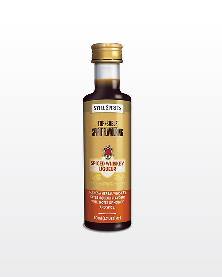 Top Shelf | Spiced Whiskey Liqueur