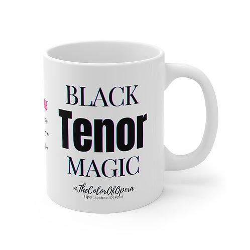 Black Tenor Magic Mug 11oz