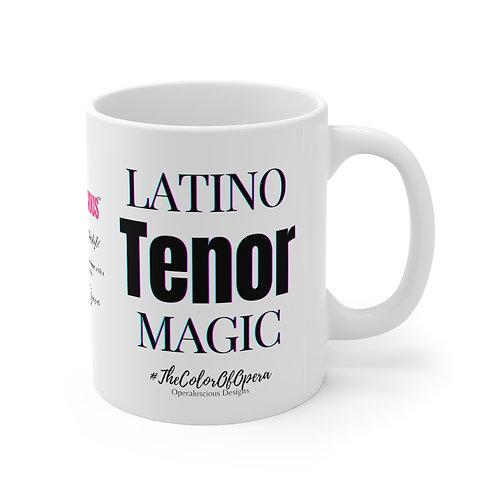 Latino Tenor Magic  Mug 11oz