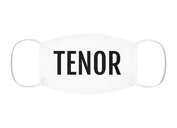 TENOR Snug-Fit Polyester Face Mask