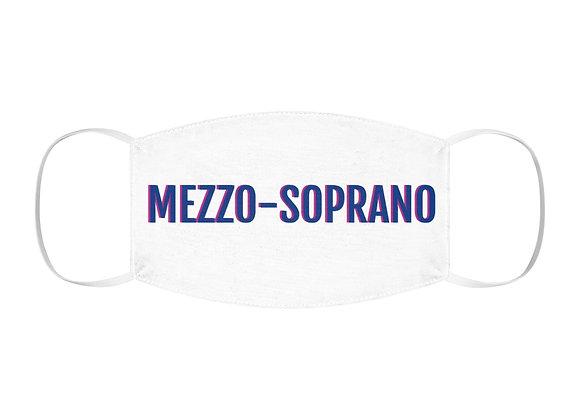 MEZZO SOPRANO Polyester Face Mask