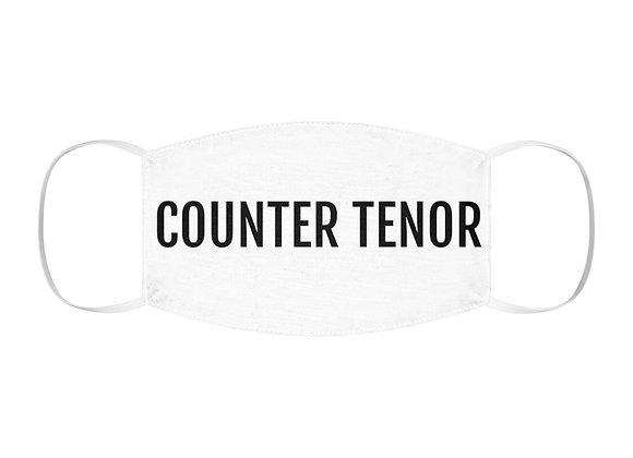 COUNTER TENOR Snug-Fit Polyester Face Mask