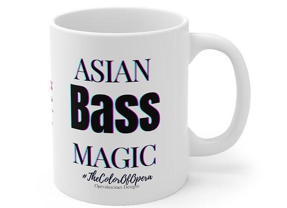 Asian Bass Magic Mug 11oz