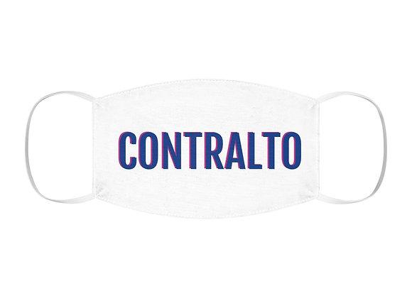 CONTRALTO Polyester Face Mask