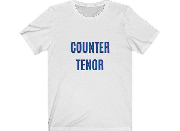 Counter Tenor Unisex Jersey Short Sleeve Tee