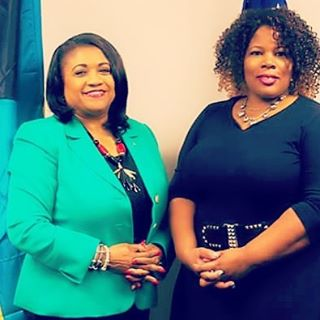 Spent some time with #ConsulGeneral of the #Bahamas (first female consul general of the Bahamas)a fe