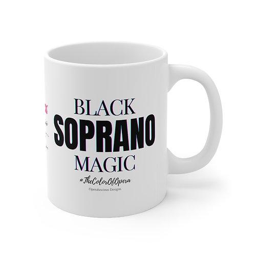 Black Soprano Magic Mug 11oz