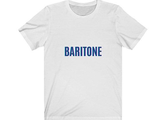 BARITONE Unisex Jersey Short Sleeve Tee