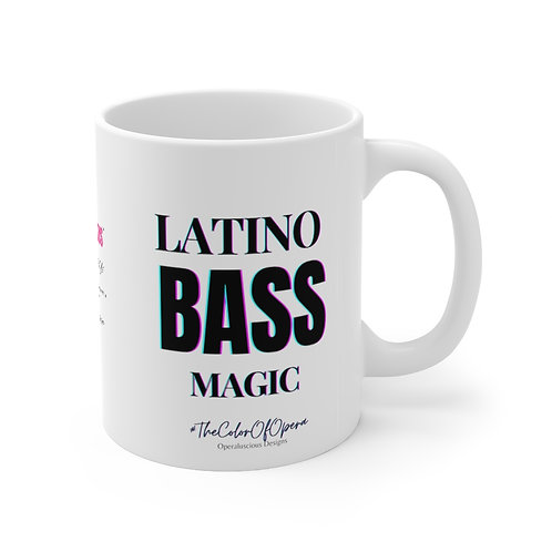 Latino Bass Magic  Mug 11oz