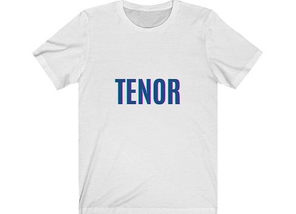 TENOR Unisex Jersey Short Sleeve Tee