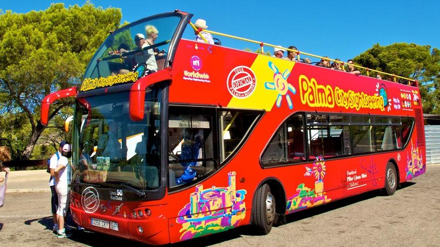 Прогулочный автобус City Sightseeing