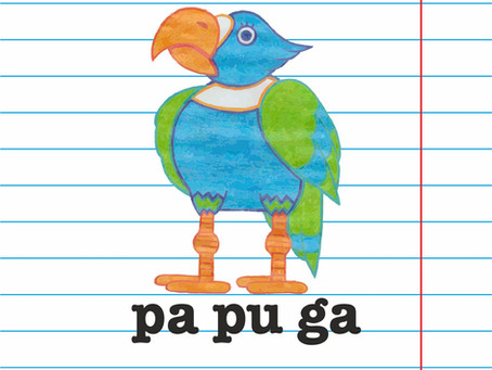 Co papuga ma do rozwoju mowy?