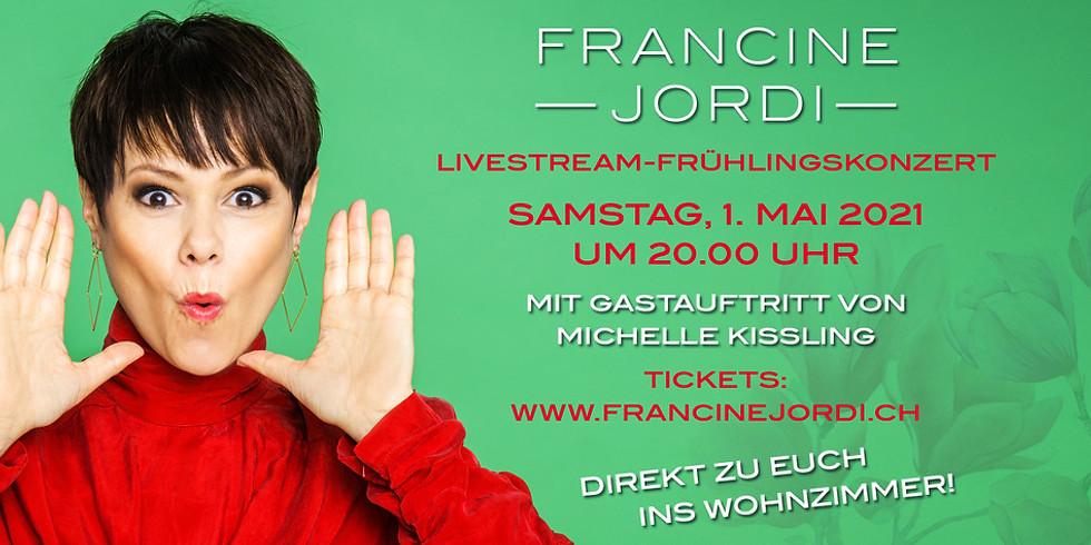 Francine Jordi Livestream-Frühlingskonzert