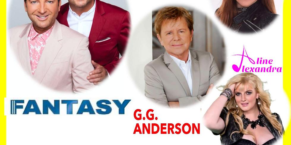 Schlagerabend mit Fantasy, G.G Anderson, Aline Alexandra, Michele Joy und Mariella-Milana
