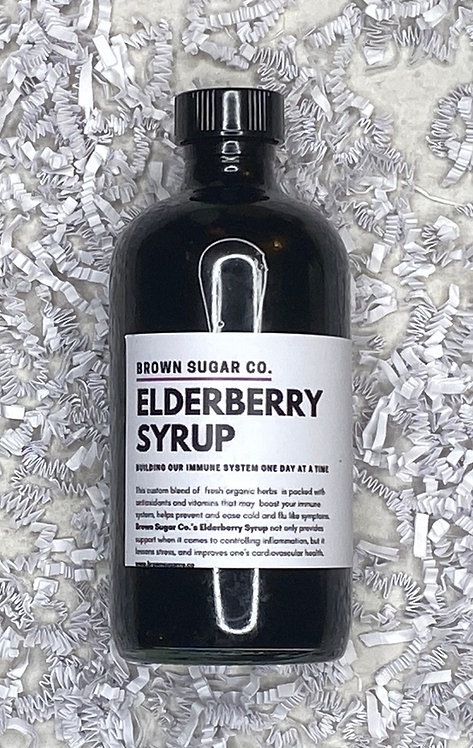 Elderberry Syrup 16 oz Bottle