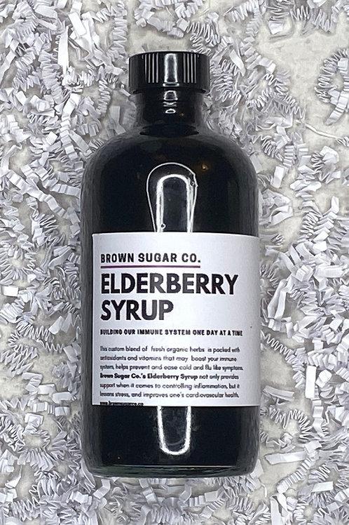 Elderberry Syrup 16 oz Bottle