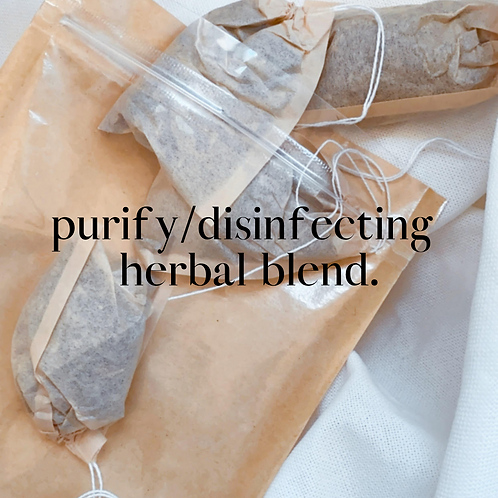 Purify/Disinfecting Herbal Blend (4pk)