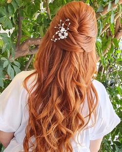 Dia de #penteadolindo na princesa _sasam