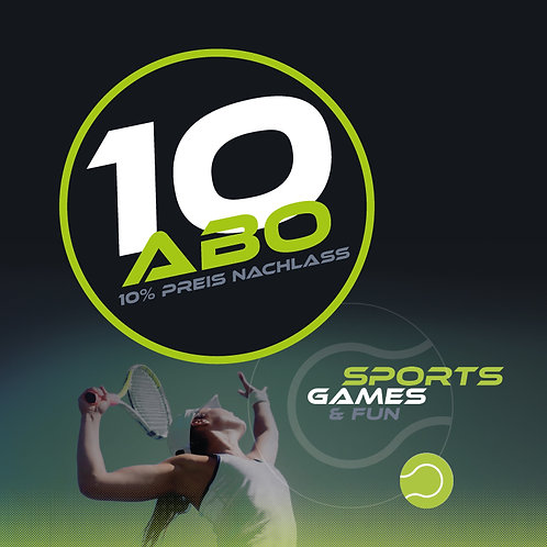 10 Abo Indoor Tennisplatz
