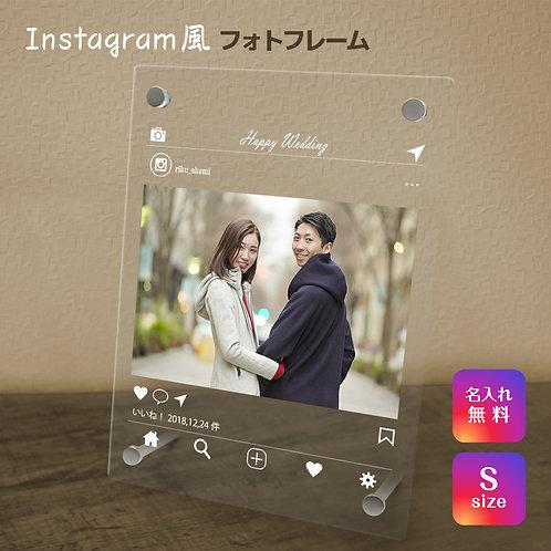 【名入れ無料】 フォトフレーム インスタ インスタグラム 写真立て フォトフレーム SNS フォトスタンド Instagram アクリル ギフト プレゼント