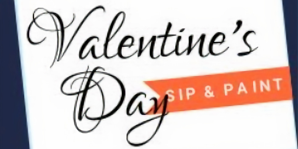 """Valentine's Day """"Love is in the Air"""" Couples Sip & Paint (OPEN TO THE PUBLIC)"""