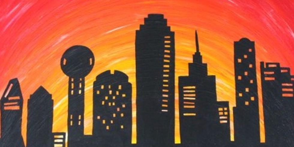 """""""Dallas Skyline"""" (OPEN TO THE PUBLIC)"""