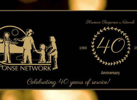 Celebrating 40 years of Human Response Network