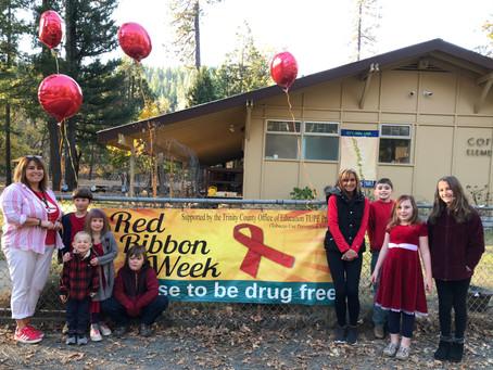 Trinity County Schools Celebrate Red Ribbon Week