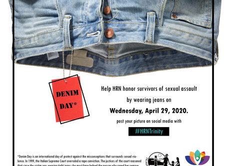 Denim Day - Honor Survivors April 29