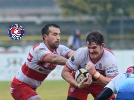 Armand Grobler Brings Physical Presence to The Tel Aviv Heat in Rugby Europe's Super Cup