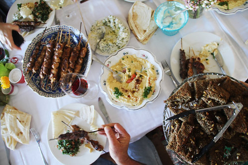 Lebanese Feast for Four