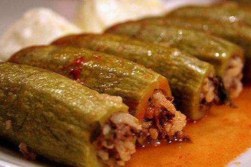 Koosa Meshi (Lebanese stuffed zucchini)