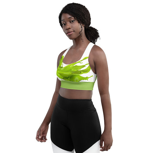 Green Paint Fitness Top