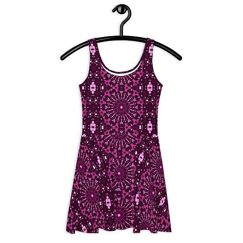 Purple Wonder Flare Dress