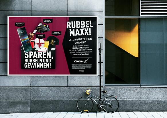 """18/1 Plakat """"Rubbel Maxx!"""""""