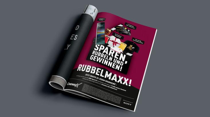 """1/1 Anzeige """"Rubbel Maxx!"""""""