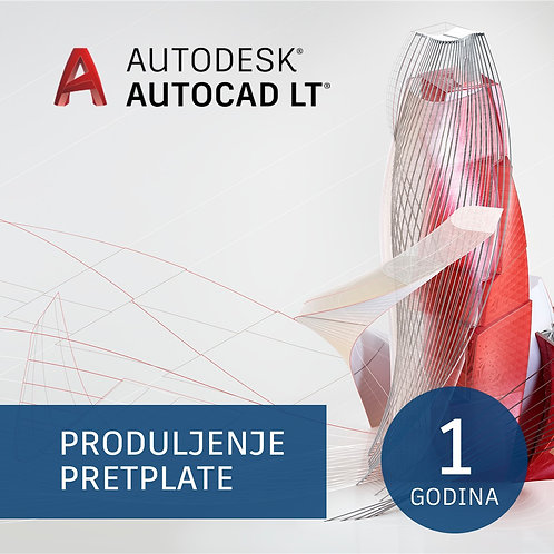 AutoCAD LT Commercial Single-user Annual Subscription Renewal