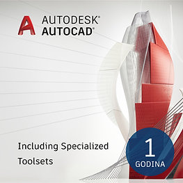 AutoCAD-including specialized Toolsets Single-user ELD Annual Subscription