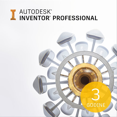 Inventor Professional 2022 Commercial New Single-user ELD 3-Year Subscription