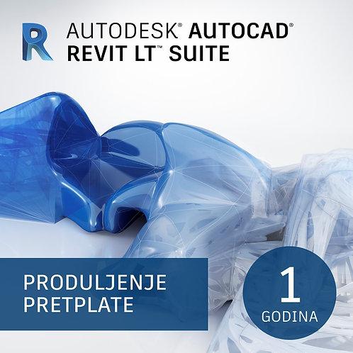 AutoCAD Revit LT Suite Commercial Single-user Annual Subscription Renewal