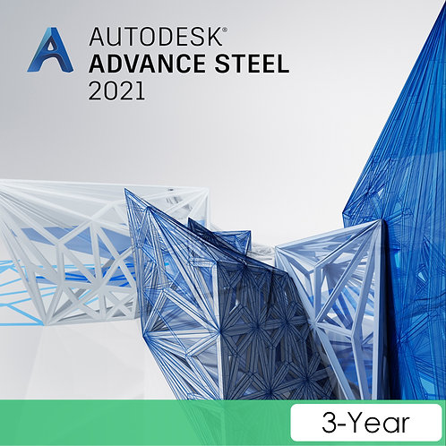Advance Steel 2021 Commercial New Single-user ELD 3-Year Subscription