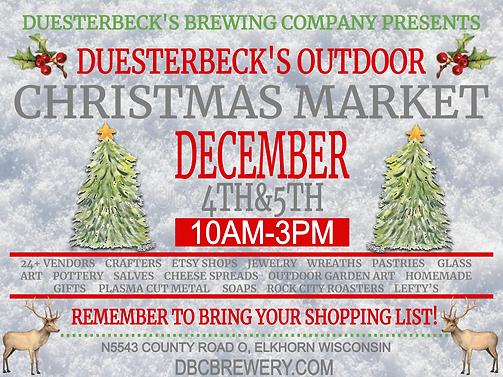 Duesterbeck's outdoor christmas market 1
